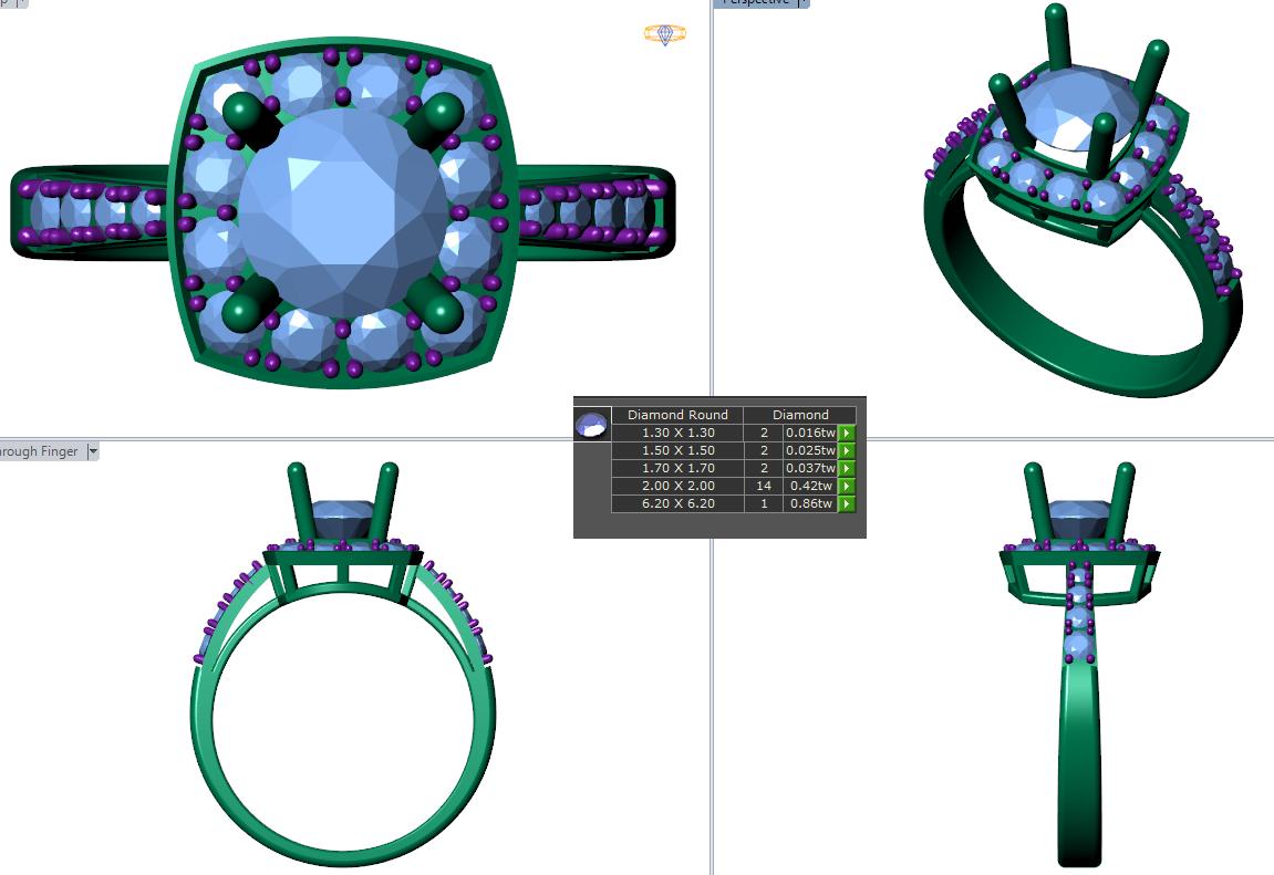 Khóa đào tạo thiết kế trang sức 2D cao cấp Hp Center