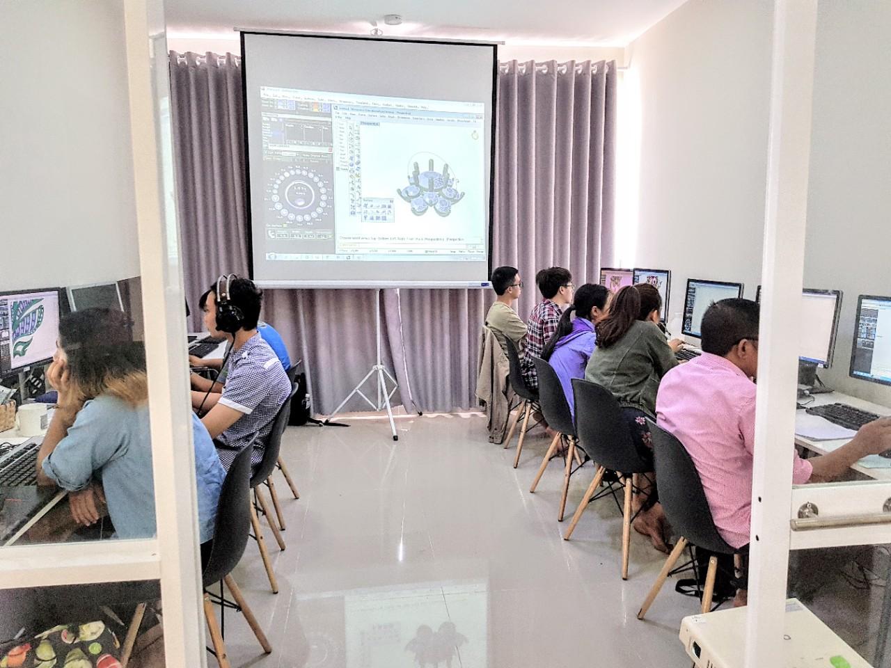 Hp Center - Nơi đào tạo thiết kế trang sức 2D uy tín